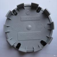 Wholesale Bmw Chrome Wheels - 10Pin 68MM Alloy Wheel Centre Caps NEW CHROME Style 1 3 5 6 7 X Z Series