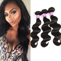 Wholesale ordering human hair for sale - Group buy Bemiss New Brazilian Natural Black Body Wave Virgin Human Hair Mix Order Time limited Rushed Per Mongolian Cambodian Peruvian Hair