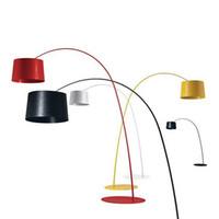 Mode-design Moderne Edelstahl Stehleuchte Für Wohnzimmer Schlafzimmer Nacht Angeln Lampe Schwarz Weiß Staande Lampe 110-240 V Lampen & Schirme