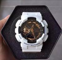 Wholesale Cheap Digital Displays - Luxury Mens Casual wrist watch G Sport Watches Led Waterproof Lady cheap Shock GA110 LED Waterproof Climbing Digital Watch All Pointer Work