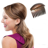 Wholesale Pcs Accessories Device - Wholesale- 1 Pc Hairdressing Hair Hase Accessories Hairstyles Styling Salon Puff Paste Hair Heighten Device Hair Briaders Good Hairclip