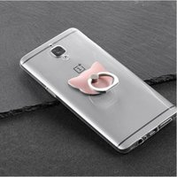 Universal Cute Cat Ring Support de téléphone mobile en métal pour iPhone Samsung Huawei Sony Téléphone portable Smartphone Stands Holder