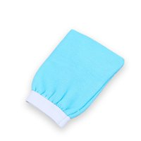 Bathroom pads and gloves - Washing soft and comfortable rubbing towels double sided gloves to remove skin care toiletries