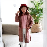 Everweekend Girls New Knitted Winter Sweater Cardigans Western Fashion Lovely Baby Clothing Ins Venta caliente Chaqueta Outwears
