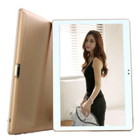 Wholesale Double Camera Tablet - 10.1 inch octa core tablet PC phablet call 3g Double card double stay 64GB memory GPS android 5.1 Lollipop