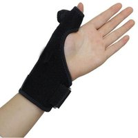 Wholesale Pc Fitness - 1 Pc Lot Hand Health Care Protection Wrist Wraps Splint Gloves Fitness Wrist Band Straps Wristband Relieve Pain