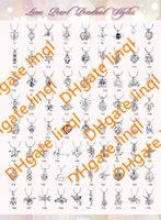 Wholesale Love Rhinestone Charms Wholesale - 75 Styles For Choose 18kgp Fashion love wish pearl  gem beads locket cages Pendants, DIY Pearl Necklace charm pendants mountings 100pcs lot
