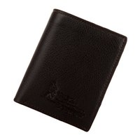 Wholesale Leather Bifold Money Clip Wallet - Men Leather Short Wallet Bifold Money Clip Credit Card Holder Business Black Coffee Vertical Horizontal Wallets A347