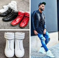 Wholesale mens style shoes high ankle for sale - 2017 hot sale Mens Brand Style Ankle Boots High Top Winter Fall Mans Short Boots Casual Flats Shoes Round Toe Footwear