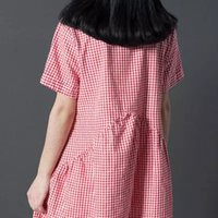 Wholesale Cheap 3xl Short Dress - Newest fashion Women Casual Dress Plus Size Cheap China Dress 3 Designs Women Clothing Fashion Summe Dress Free Shipping
