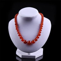 Três cores AAA 100% Natural Jade High Quality Wide 10mm Longitud 45cm Necklace for Women Best Christmas Gift