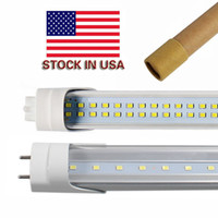 Wholesale Led Bulb Bright White - Stock in US + 4ft led tube 22W 25W 28W Warm Cool White 1200mm 4ft SMD2835 192pcs Super Bright Led Fluorescent Bulbs AC85-265V UL