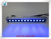 Wholesale Dmx Led Wall Washer Lights - (12 pieces lot) free shipping waterproof stage lighting 12x10w rgbw wall washer outdoor dmx led wall washer