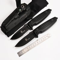 Wholesale High Quality Folding Knife Brands - 2017 Hot!!!High Quality YEhan brand 58HRO Knives Fixed Blade Camping Hunting Knife Survival Knives Two styles