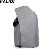 Wholesale Waterproof Rucksack Laptop - Wholesale- KALIDI 13 to 17 Inch Laptop Backpack Large Capacity Waterproof Casual Daypack Rucksack Unisex Women Bagpack Travel Bags