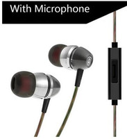 Wholesale good music phones - New X8 D01 Mobile Phone-specific Metal Headset Sport Headphone Music Earphone Subwoofer Sound Voice via Good Quality DHL Free Shipping