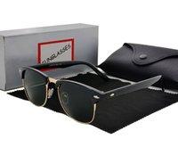 ingrosso casi di qualità-Occhiali da sole firmati di marca Occhiale da sole in metallo di alta qualità Occhiali da sole Occhiali da sole da donna Occhiali da sole UV400 Unisex con custodia e astuccio