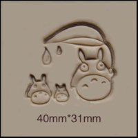 Wholesale Mini Soap Molds - Wholesale- Chinchilla family pattern DIY soap stamp mold chapter mini DIY patterns resin chapter molds