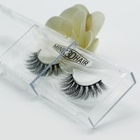 Wholesale Black Feather Eyelashes - 3D eyelashes mink hand really cross eyelashes with dense false eyelashes individual D11