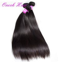Wholesale Vip Malaysian Hair Weave - Grace Hair VIP Price Malaysia Virgin Straight Remy Human Hair Weave 3 Bundles Brazilian Peruvian Malaysian Human Hair Extensions