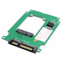adaptador mini sata ssd venda por atacado-50mm mini PCI-E mSATA SSD para 2.5