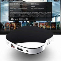 Wholesale Apple Movie - Android 6.0 Apple IX2 Smart TV Box KD fully loaded 1GB DDR3 8GB ROM Rockchip RK3229 processor 4K Free Movies apps pre-installed