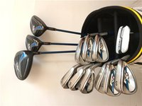 Wholesale Golf Clubs Full Sets - XR Full Set XR Golf Clubs Driver + Fairway Woods + Irons R S Flex Graphite Steel Shaft With Head Cover