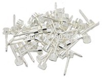 Wholesale Ear Tattoo Gun - Wholesale-Freeshipping 196 Pcs Stainless STEEL STUDS Earrings EAR BODY RINGS for PIERCING GUN TOOLS for tattoo piercing kits supplies