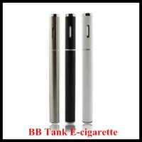 Wholesale Shipping T1 - IN STOCK BB Tank T1 T2 Disposable e cigarette vaporizer o pen vape bb tank thick oil cartridge pen Free Shipping