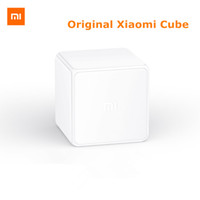 Wholesale Smart Tv Devices - Wholesale-2016 Xiaomi Mi Cube Controller Zigbee Version Controlled by Six Actions with Phone App for Smart Home Device TV Smart Socket