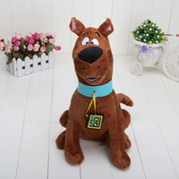 13 '' High Quality Soft Plush Bonitinho Scooby Doo Dog Dolls Recheado Toy Novo atacado e varejo