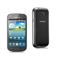 Wholesale Trend Accessories Wholesale - Unlocked Original Samsung GALAXY Trend Duos S7562i 4.0Inch ROM 4GB WIFI GPS Blluetooth 3G WCDMA Android phone