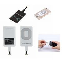 Wholesale Qi Charger Sticker - Qi Wireless Power Charger Receiver Film Wireless Charger Charging Receiver Module Sticker For Phone Samsung Any Smartphone