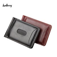 Wholesale American Buck - Baellerry Exports New Style Men Brand Designer Leather Luxury Purse Wallet Short Cross High Quality Wallets For Male Card Bags Magnetic Buck