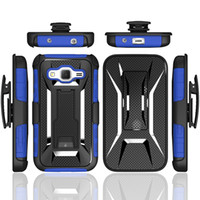 Barato Coldre Caso Huawei-X Shape Shockproof Hybrid Rugged Defender Armor Case Kickstand + Swivel Belt Clip Holster Cover para Samsung LG Huawei casos