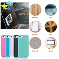 Wholesale anti gravity case car for sale - Group buy Anti Gravity Cases For s8 plus iPhone Plus iPhone s Plus s se Magical Anti gravity Nano Suction Cover Adsorbed Car