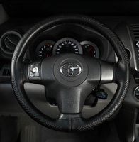Wholesale Diy Leather Steering Wheel Covers - DIY steering wheel covers Leather hand stitching steering wheel cover