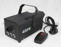 Wholesale Equipment For Party - 2017 NEW 400w Led Mini Smoke Generator Led Fog Machine for Party Club Pub Stage Equipment FREE SHIPPING MYY