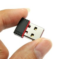 Wholesale Nano Mbps USB Wifi Wireless Adapter IEEE n g b Mini Antena Adaptors Chipset MTK7601 Network Card Free DHL