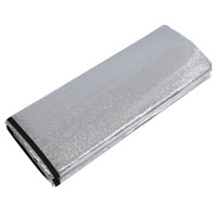 Wholesale Beach Mat Sides - Wholesale- New Sale 150 x 200CM Waterproof Outdoor Picnic Mat Two-sided Silver Beach Camping Tent Travel Mattress Sleeping Pad