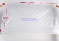 folhas de envoltório do corpo venda por atacado-Uso do salão de beleza Para o uso junto com a máquina da cobertura da sauna / folha plástica para o envoltório do corpo 120 * 220cm