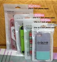 usb kabel verpackung taschen großhandel-Zip-Lock-Handy-Zubehör-Fall Kopfhörer USB-Kabel-Kleinpackungs-Tasche OPP PP PVC-Poly-Plastikverpackungs-Taschen für iPhone 6 7 8 X Note8