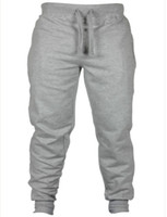 Wholesale Baggy Corduroy Pants - Wholesale- 2016 fashon Fitness Long Pants Men Casual Sweatpants Baggy Jogger Trousers Fashion Fitted Bottoms streetwear hiphop
