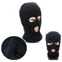 Wholesale Motorcycle Full Mask Winter - Wholesale- Motorcycle Motorbike Balaclava Neck Winter Skiing cycling Full Face Mask Cap Warmer