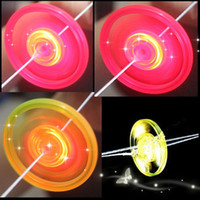 Wholesale whistle led party - LED Luminous Flywheel Toy Flashing Light Up Whistle Flying Saucer Glow Toys for Kids Party Birthday Supplies ZA3719