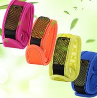 Mosquitoes outdoor mosquito control - Outdoor Mosquito Summer Pest Insect Repellent Wrist Band Camping Pest Repel Control Wrist Band Mosquito Repellent Bracelet KKA1830