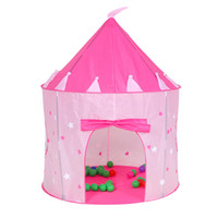 Wholesale Dark Tent - Princess Castle Play Tent with Glow in the Dark Stars, conviniently folds in to a Carrying Case, your kids will enjoy this Foldable Pop Up p
