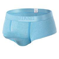 Wholesale Underwear Elephant - Mens Underwear Boxers Brand 2017 Panties Man Sexy Cueca Boxer Elephant Underpants Gay Lingerie Boxershorts Penis Pouch Undies