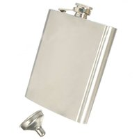 Wholesale Uses Alcohol - Hip Liquor Alcohol Flask 18 oz With Stainless Steel Screw Cap Outdoor Use Personalized Gift A197