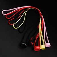 Wholesale Ego Lanyards Dhl - Silicone Lanyard Vape Band Rings Silicon Necklace vape band String for EVIC EGO ONE I JUST S SUBVOD Target Mini kit DHL free